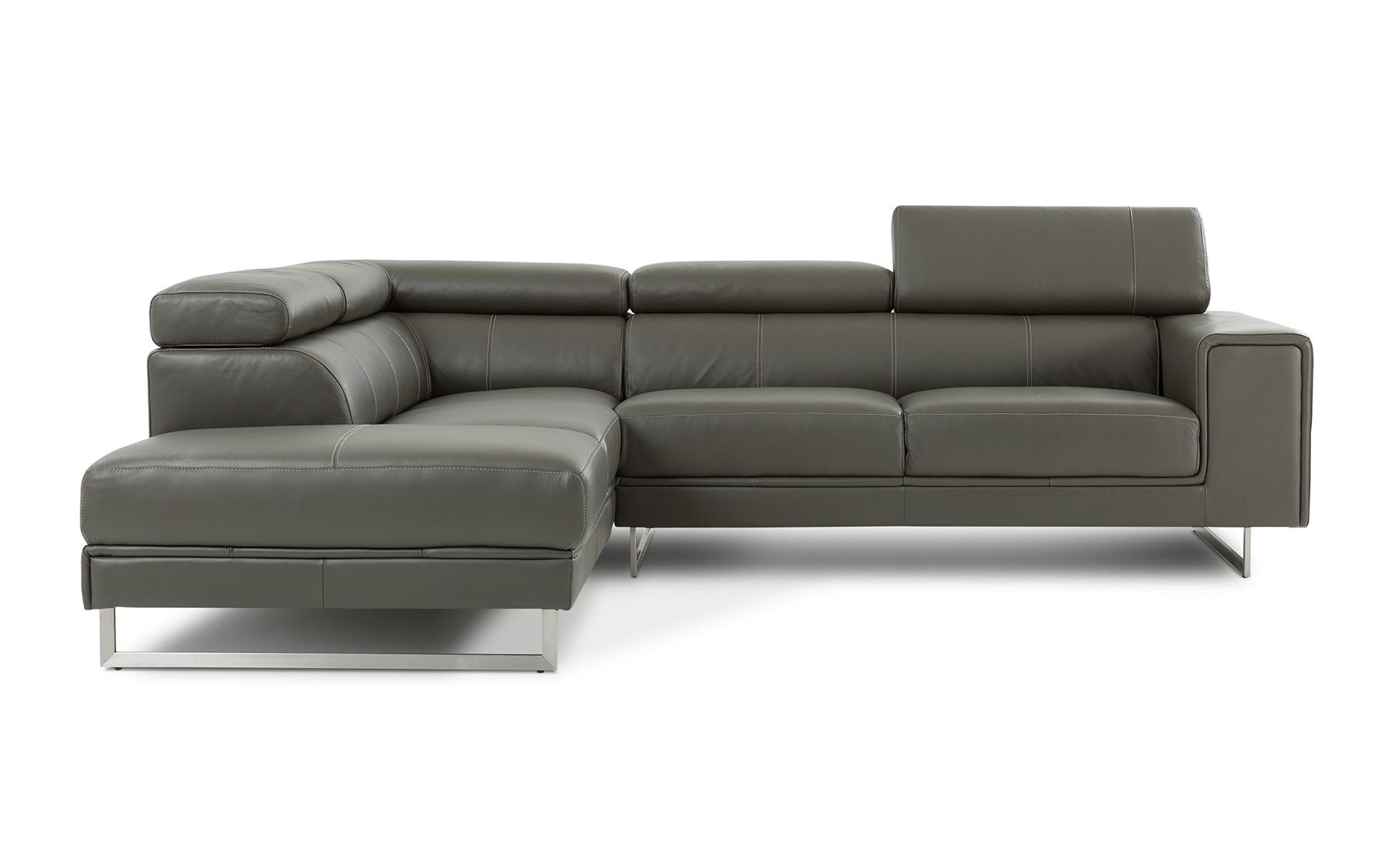 Canap composable cuir c887 composables salons la for Galerie du meuble