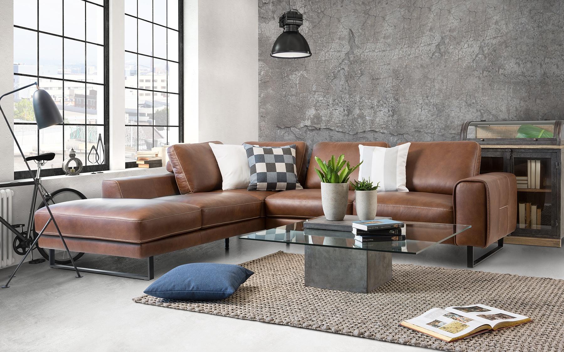 canap composable cuir c939 composables salons la galerie du meuble. Black Bedroom Furniture Sets. Home Design Ideas