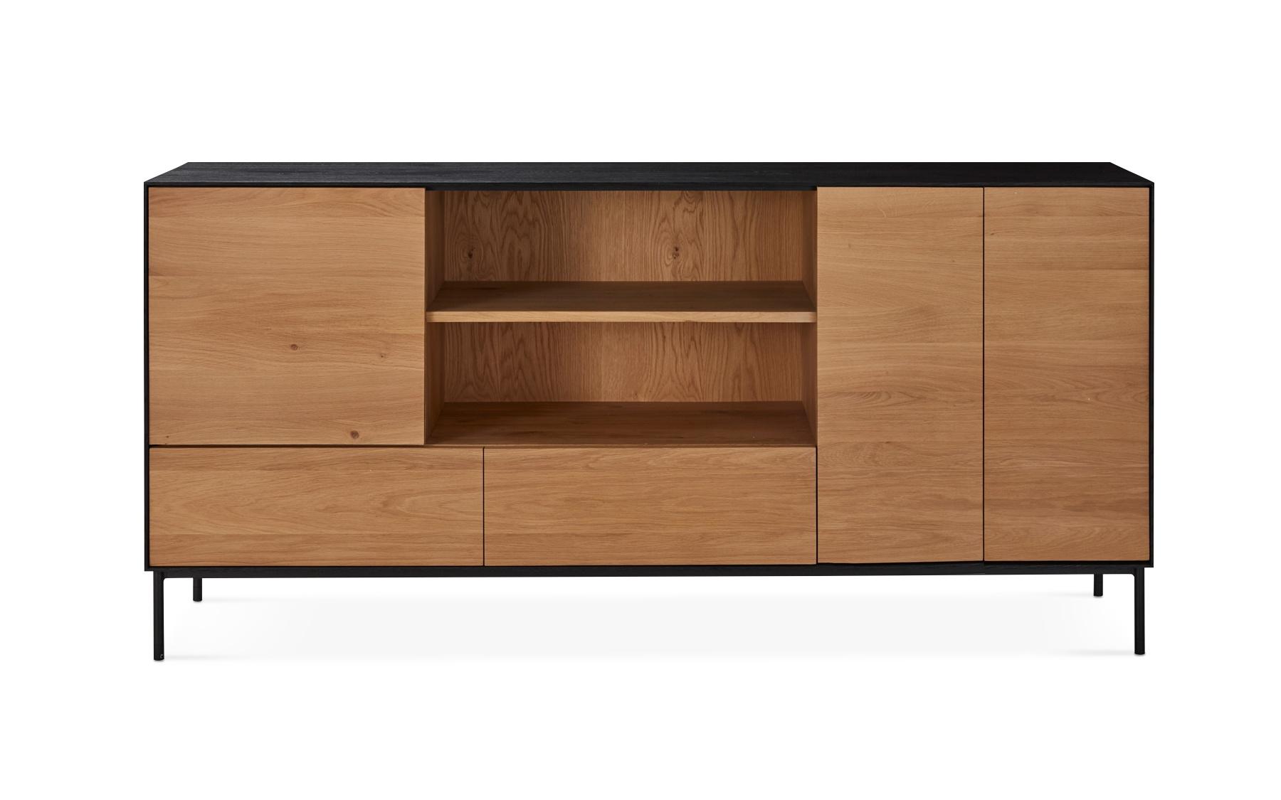 Buffet 3 portes 2 tiroirs cb225a buffets salles manger la galerie du meuble - La galerie du meuble contemporain ...