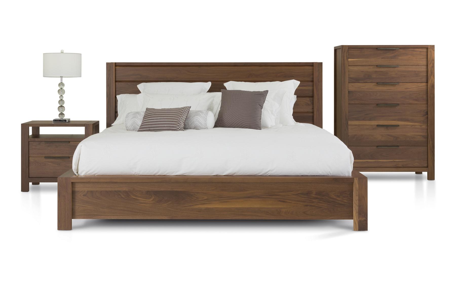 Lit grand format cl481 lits chambres la galerie du meuble - La galerie du meuble contemporain ...