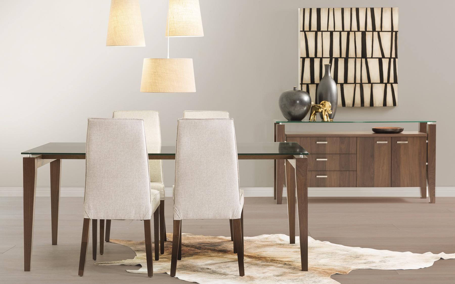 Table 72x42 cl555 tables salles manger la galerie for La galerie du meuble contemporain