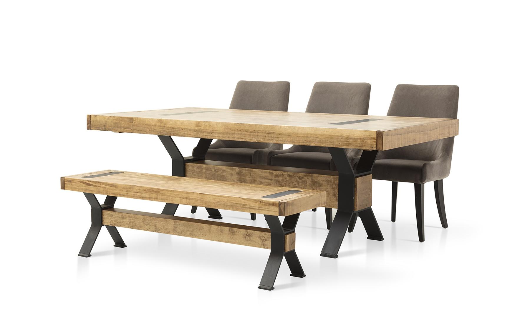 Table 42x84 2 extensions 16 cl615 tables salles manger la galerie du meuble - La galerie du meuble contemporain ...