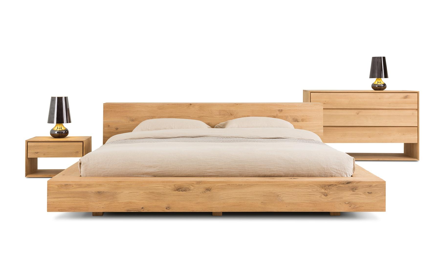Lit grand format co508 lits chambres la galerie du meuble - La galerie du meuble contemporain ...