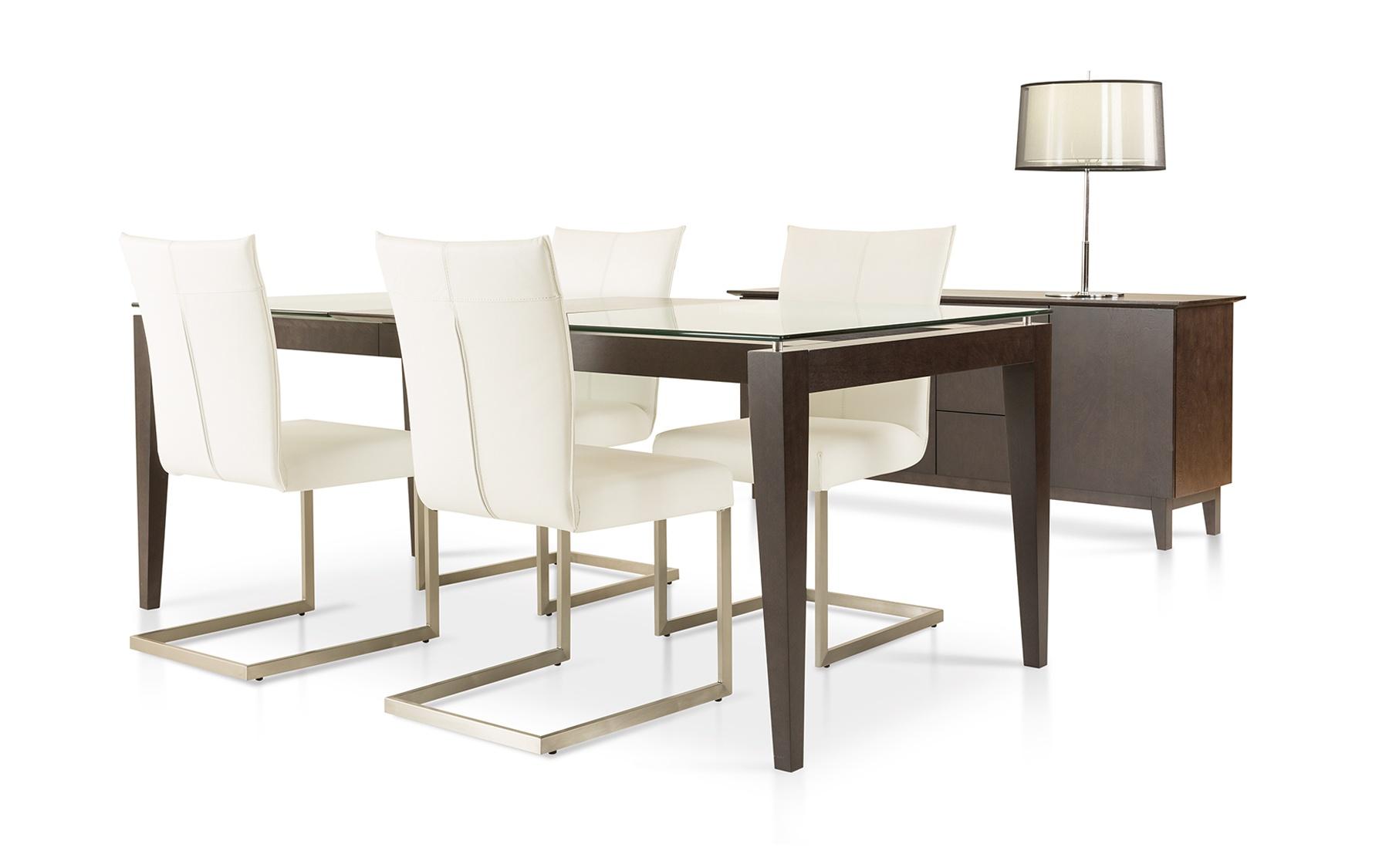 table 38x60 1 extension 18 co526 tables salles manger la galerie du meuble. Black Bedroom Furniture Sets. Home Design Ideas