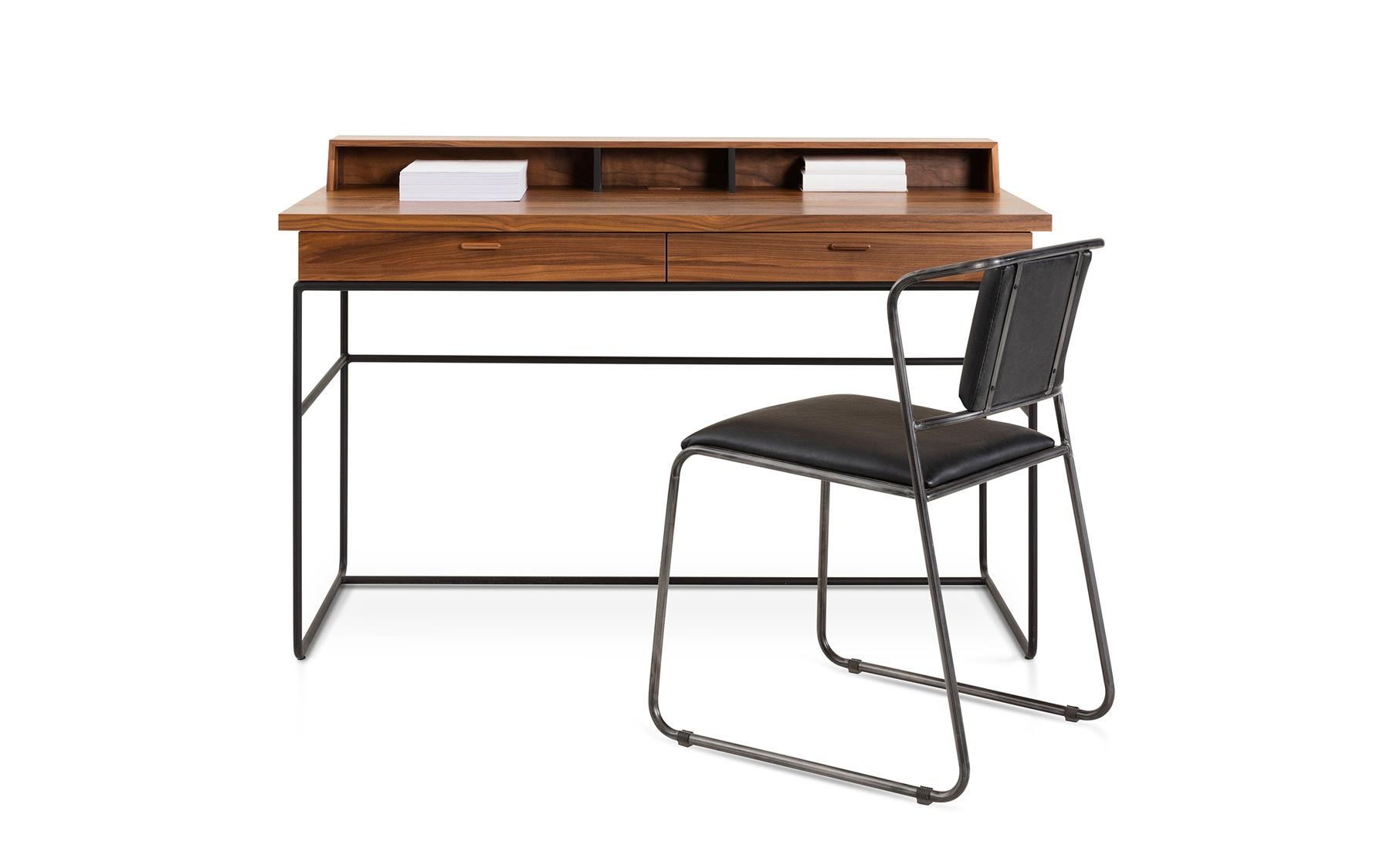 Table de travail d secrétaires et chaises bureaux la