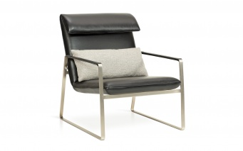 Fauteuil cuir Luxembourg