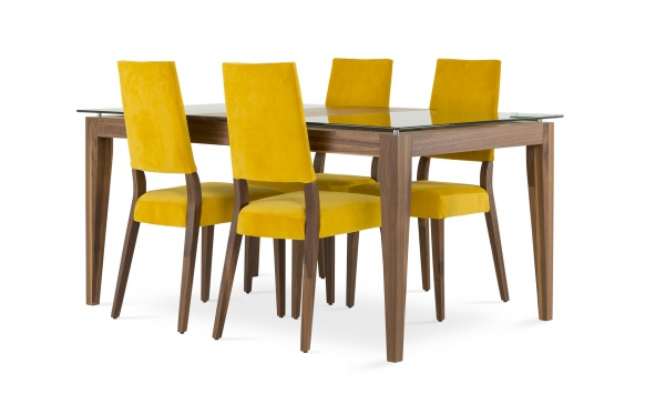 table 38x48 1 extension 18 cl531 tables salles manger la galerie du meuble. Black Bedroom Furniture Sets. Home Design Ideas