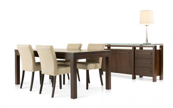 chaise cl557 chaises salles manger la galerie du meuble. Black Bedroom Furniture Sets. Home Design Ideas