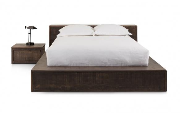 Lit grand format cl602 lits chambres la galerie du meuble - La galerie du meuble contemporain ...