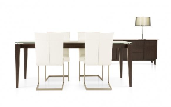 Table 38x60 1 extension 18 co526 tables salles for La galerie du meuble contemporain